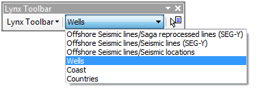Lynx toolbar in ESRI ArcMap